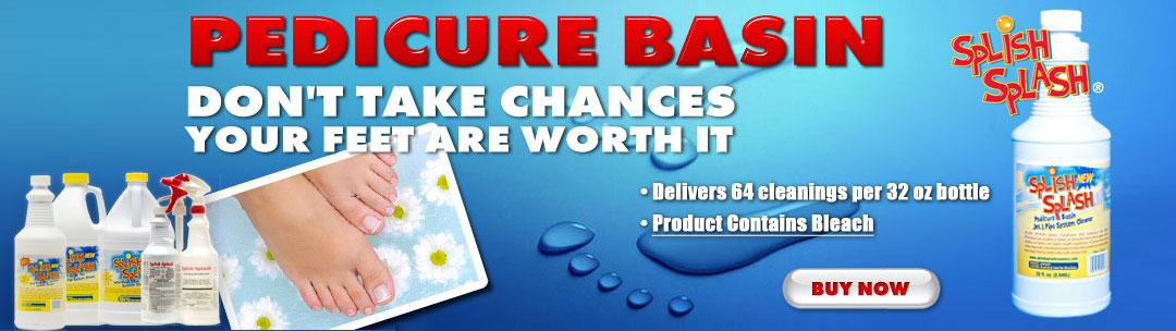 Splish Splash Pedicure Basin