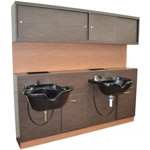 Shampoo Cabinet 187 Salon Designers La