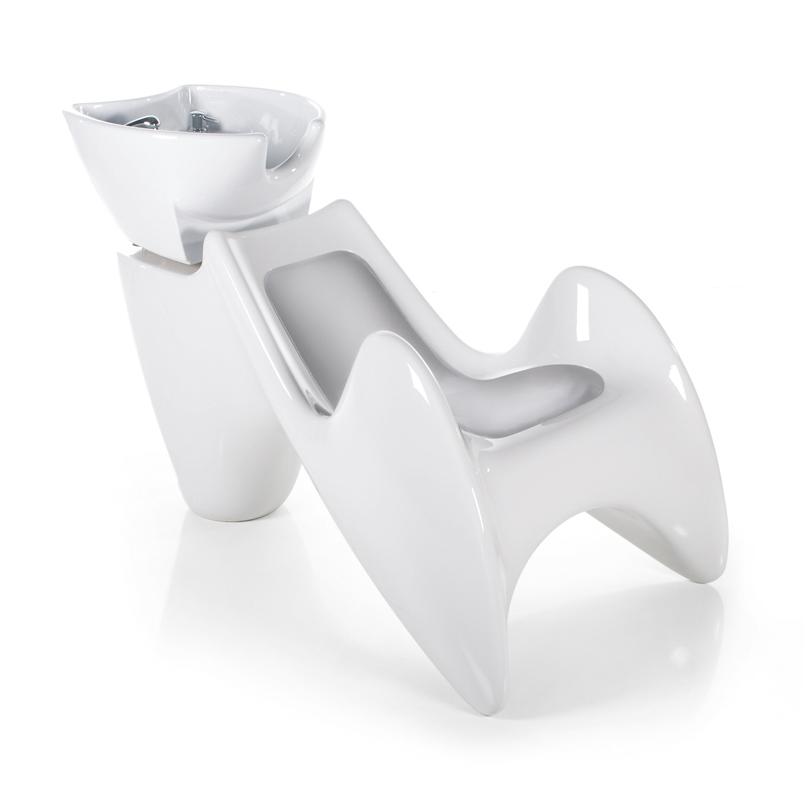 Fluid Wash Shampoo Unit with Tilting Bowl