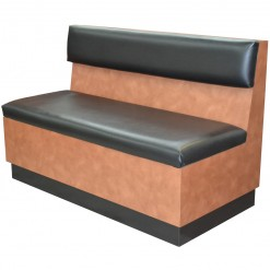 Waiting Bench with Padded Cushions