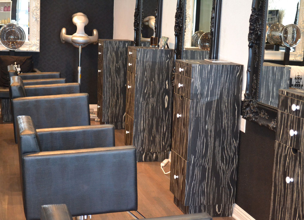 Blanc noir salon designers la - Salon noir blanc taupe ...