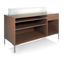 Ecochic Reception Desk (inside)