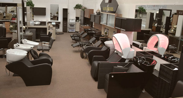 Design services salon designers la for Design x salon furniture