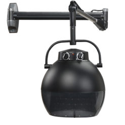 Hoodie Hair Dryer With Mounting Arm