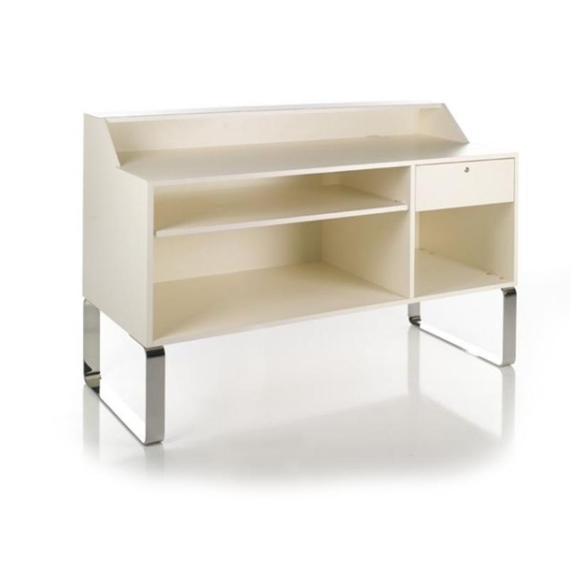 Sledesk Reception Desk (inside)