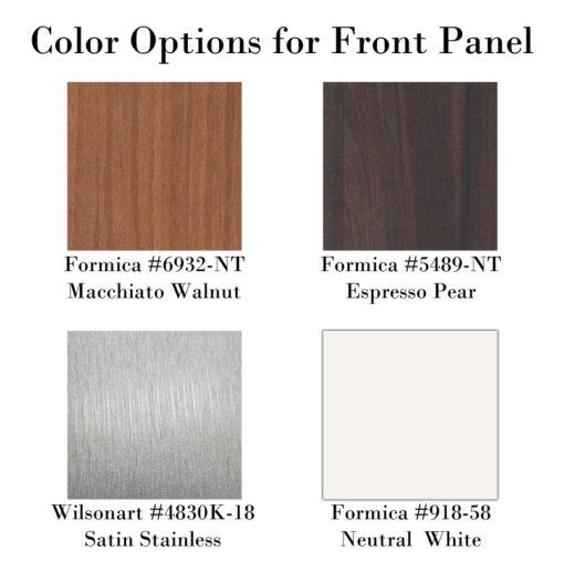 Signature Basin Color Options