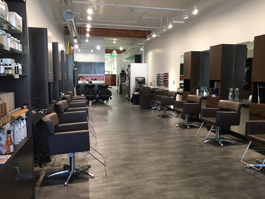 Cutting edge salon designers la for A cutting edge salon